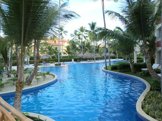 pool view picture of majestic elegance punta cana. Black Bedroom Furniture Sets. Home Design Ideas
