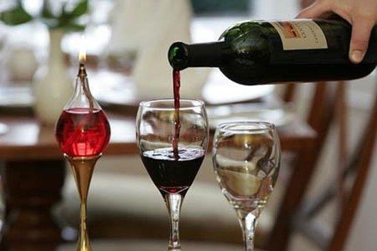 Rozzers Restaurant: wine