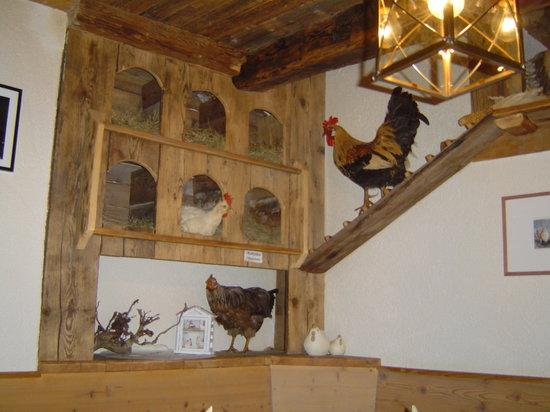 Hennenstall: pranzare nel pollaio