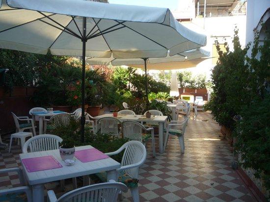 Hotel Toledo: terrasse de l'hotel