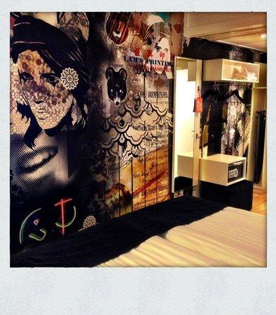Scandic Malmen : The interior decorator's heavy touch