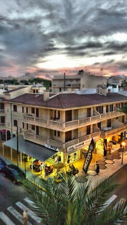 Hotel JS Sol de Ca'n Picafort: Blick in den Sonnenuntergang