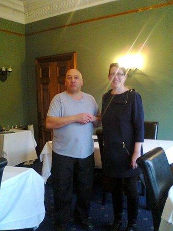 The Cluny Bank Hotel: wonderful hosts,sorry lloyd,lolxx