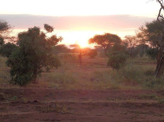 03/2013, Ndololo Camp, Tsavo East, Sonnenaufgang