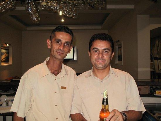 Sammy's Hotel: Umit and Mr Bean