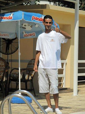 Sammy's Hotel: Umit at the pool