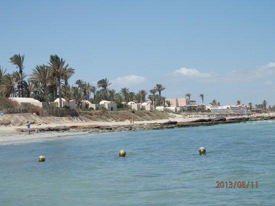Sangho Club Zarzis : une plage agréable et nette