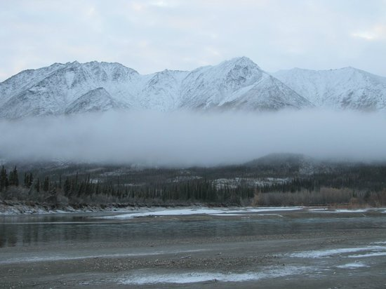 Gates Of The Arctic National Park and Preserve, Αλάσκα: Snow on about the 6th day