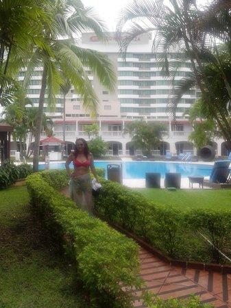 Hotel El Panama: La vista esta linda!