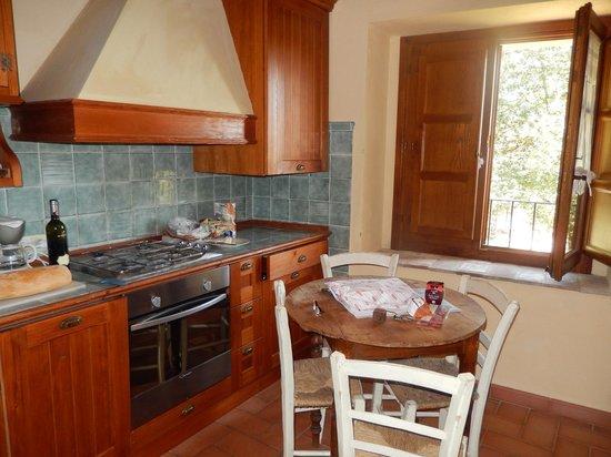 Borgo di Pietrafitta Relais: cute little kitchen