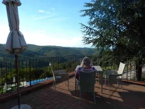 Borgo di Pietrafitta Relais: private terrace