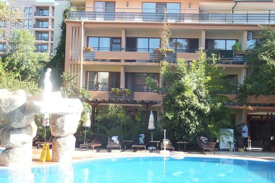 Venera Hotel: pool view rooms
