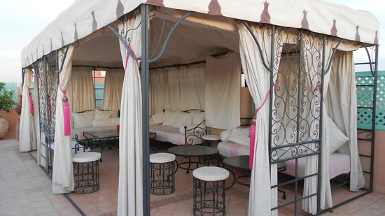 Riad Assouel: Terrasse