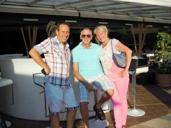 Noa Restaurant : Jürgen, Kerstin und ich