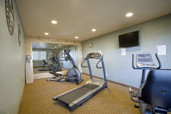 Quality Inn Madras : Fitness Room