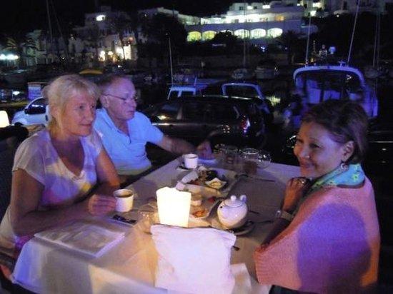 Noa Restaurant : Kerstin, Jürgen und Jojie
