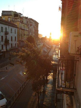 Hostel Mancini: Вид с балкона (из кухни)