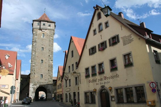 Rödertor: la torre
