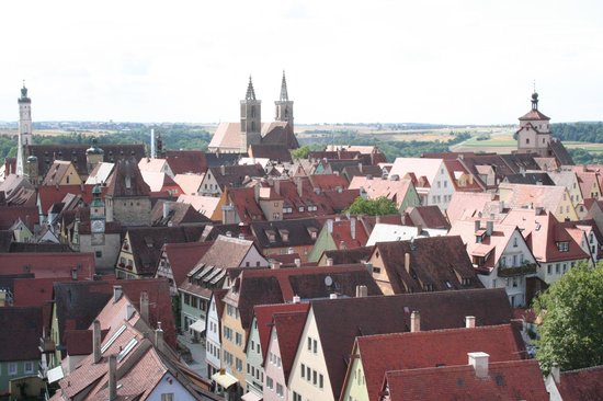 Rödertor: il centro visto dalla torre