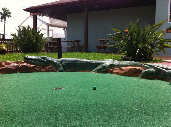 Golf-N-Gator: Say bye to your ball!