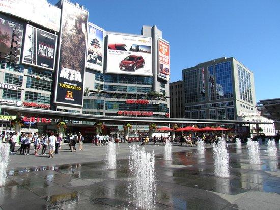 "Tour Guys: Toronto's ""Time Square""/"