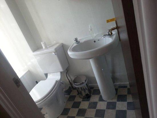 The Seacroft : Ensuite Bathroom in Twin Room
