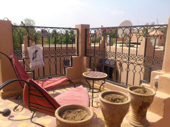 Riad Eva: the roof terase
