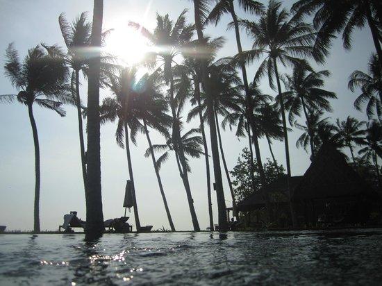 The Chandi Boutique Resort & Spa : dans l'eau
