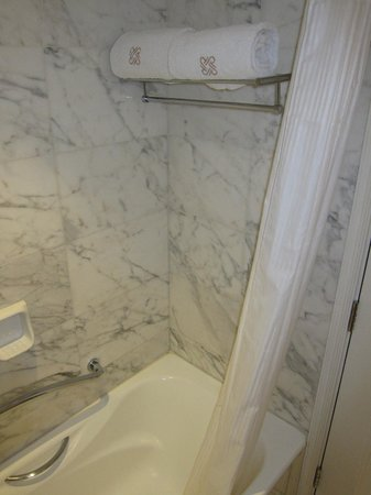 Hotel Royal Macau: Shower bathtub combination