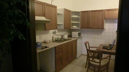 U Cerneho Medveda- At The Black Bear : Kitchen