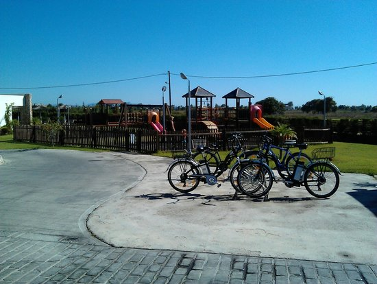 TUI SENSIMAR Palazzo del Mare: Kids playground and hire bikes
