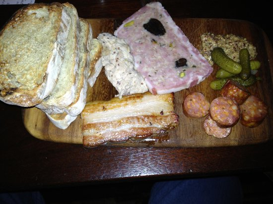 Motor Supply Co. Bistro: Home made charcuterie, a lost art in the U.S.