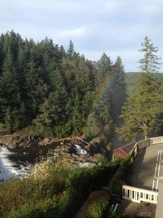 Salish Lodge & Spa: View of the Upper Falls
