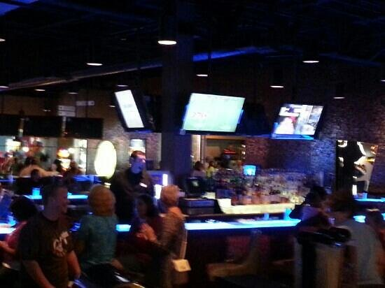 Latitude 360: one of the bar areas
