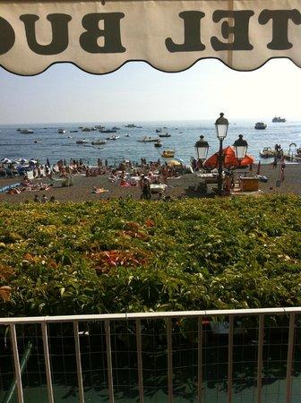Hotel Buca di Bacco: Vista do restaurante