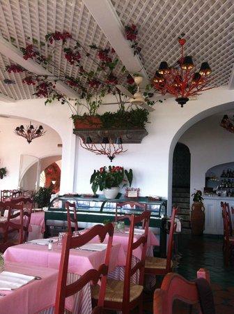 Hotel Buca di Bacco: restaurante