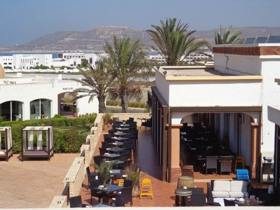 Robinson Club Agadir : view on terras diningroom