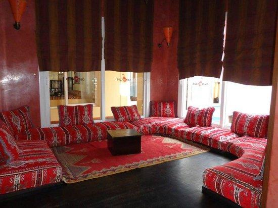 Robinson Club Agadir : sit area bar