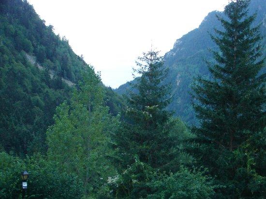 Caldes De Boi, Espagne : Esto se ve desde una ventana de habitación