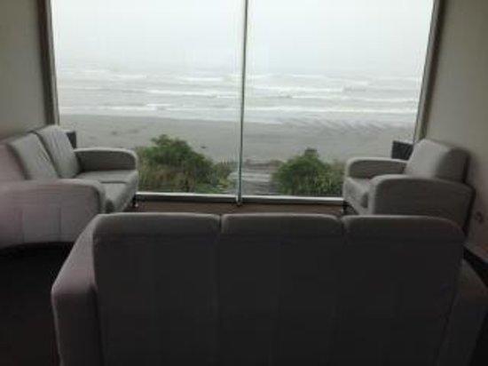 Beachfront Hotel Hokitika: The observation room