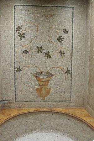 Locanda dello Spuntino: Hand laid mosaic