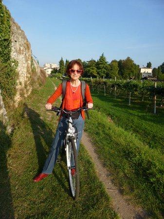 Villa Monteleone: Cycling around Monteleone