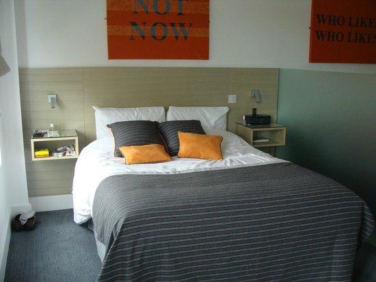 Templeton Place Aparthotel: Dormitorio del apartamento en que nos alojamos