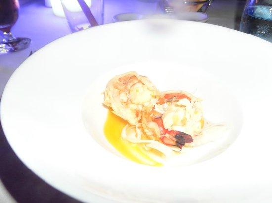 Villa Beach Restaurant: Langoustine