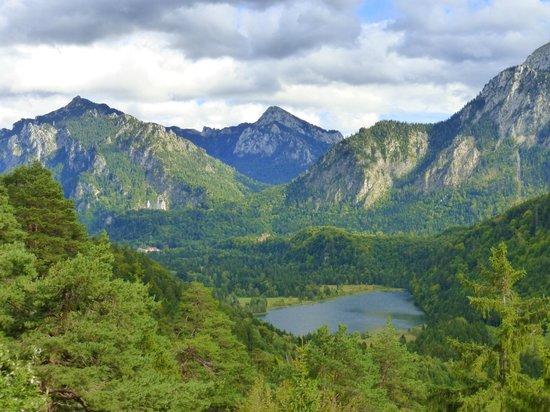 view from Kalvarienberg