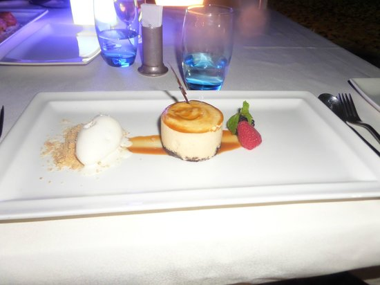 Villa Beach Restaurant: Banoffee Cheesecake