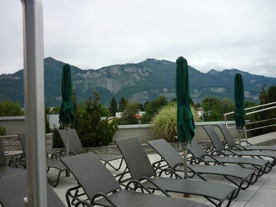 Four Points by Sheraton Panoramahaus Dornbirn: Sun deck