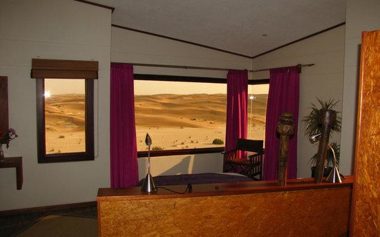 Desert Breeze Lodge: view from the bedroom