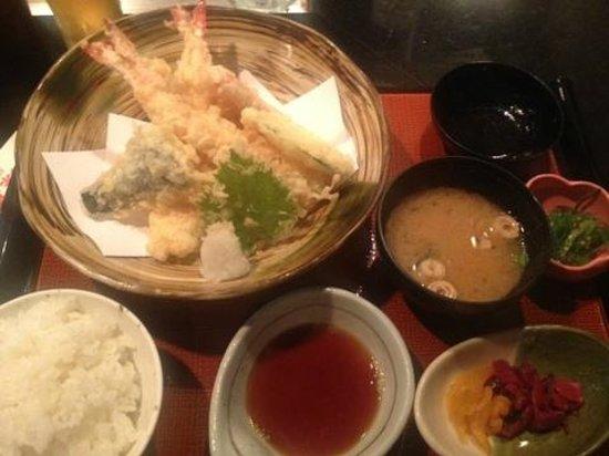 Restaurant Suntory Honolulu: ランチ:天ぷら定食