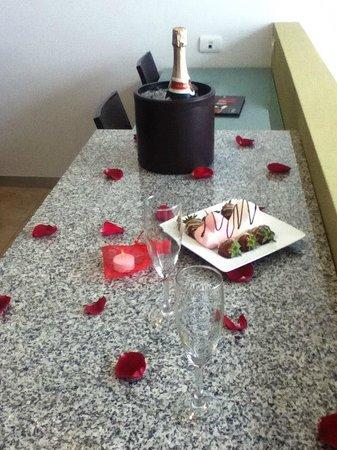 Stadía Suites: PAQUETE ROMANTICO